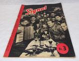 Magazine Signal INCOMPLET 1er numéro janvier 1941 allemand WW2