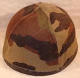 Casque modèle 78 F1 série 3 avec couvre-casque camouflé CE Centre-Europe armée française