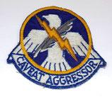 Insigne 4123rd Combat Defense Squadron USAF Air Force armée US