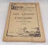 Manuel Les leçons du fantassin, Le livre du soldat 1935 français WW2
