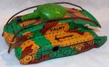 Char en tole VALMY jouet ancien vintage