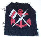 Insigne de spécialité Personnel des transmissions Marine ZM-FN armée belge