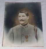 Portrait soldat 55ème Régiment d'Infanterie RI avec croix de guerre français WW1