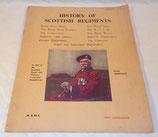 Livre History of Scottish Regiments GB WW2