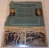 Tract Les armes françaises à l'honneur, Italie, français WW2