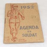 Agenda du soldat 1952 armée française Indochine