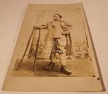 Carte postale photo soldat 16ème Régiment de Chasseurs français WW1