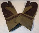 Paire de gants/moufles de motocycliste armée française Indochine/Algérie
