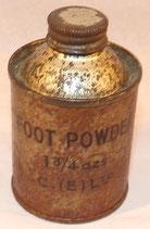 Boite Foot Powder GB WW2