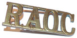 Shoulder title RAOC Royal Army Ordnance Corps GB WW1