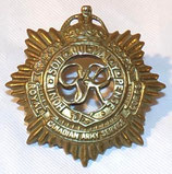 Cap badge RCASC Royal Canadian Army Service Corps Canada WW2