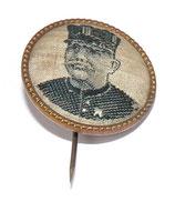 Epinglette à l'effigie du Maréchal Joffre français WW1