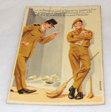 Carte postale humoristique militaire Photochrom 50314 armée française
