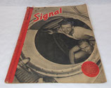 Magazine Signal INCOMPLET 1er numéro octobre 1941 allemand WW2