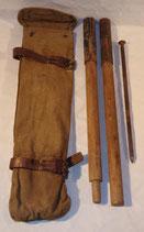 Housse (type allemand WW1) avec mats et piquets de tente Suède WW1/WW2 (N°5)