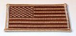 Insigne/patch drapeau de manche USA modèle désert armée US