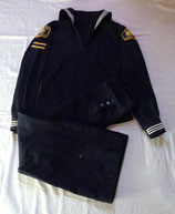 Tenue Blue Dress nominative jumper + pantalon à pont United States Naval Sea Cadet Corps USNSCC armée US