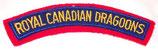 Title Royal Canadian Dragoons Canada après-guerre
