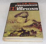 Livre J'espionnais les espions, Major AW Sansom, Presses de la cité