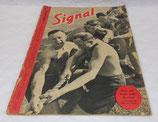 Magazine Signal INCOMPLET 1er numéro juin 1943 allemand WW2