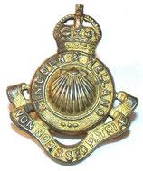Collar badge Lincoln & Welland Canada WW2