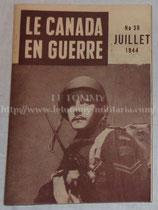 Revue Le Canada en guerre N°38 juillet 1944 WW2