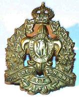 Cap badge Le Regiment de Maisonneuve Canada WW2