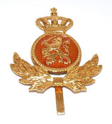 Insigne de casquette officier armée hollandaise