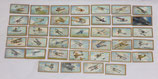 Lot de 39 cartes Aeroplanes A series of 50 subjects distribuées dans les paquets de cigarettes GB