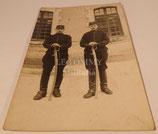 Carte postale photo camarades 33ème Régiment d'Artillerie français WW1