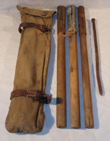 Housse (type allemand WW1) avec mats et piquets de tente Suède WW1/WW2 (N°3)