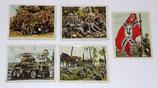 Lot de 5 images Die Deutsche Wehrmacht allemand WW2