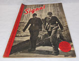 Magazine Signal INCOMPLET 1er numéro juin 1941 allemand WW2