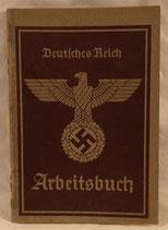 Livret de travail Arbeitsbuch allemand WW2