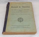 Recueil de théories à l'usage des chefs de brigade, gendarmes, gardes et des nouveaux admis dans l'arme 1930 français WW2
