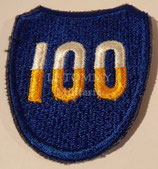 Patch 100th Division US WW2