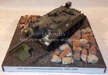 Diorama militaire char Kanonenjagdpanzer allemand années 1965-1990 au 1/35ème. Dimensions: 23x23 cm.