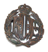 Cap badge RAAF Royal Australian Air Force WW2