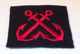 Insigne de bras des équipages/Fusiliers-Marins Marine Nationale armée française
