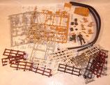 Lot diverses pièces pour maquettes/dioramas WW2
