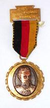 Médaille de marche 1971 Rieschweiler Ludwig II Konig von Bayern allemande
