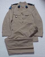 Tenue veste + pantalon d'été du 1er RHP Régiment de Hussards Parachutistes armée française