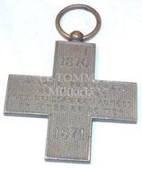 Médaille 1870-1871 Société française de secours aux blessés des armées de terre et de mer