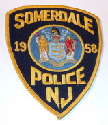 Insigne Police New Jersey Somerdale 1958 US