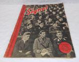 Magazine Signal INCOMPLET 1er numéro juin 1942 allemand WW2