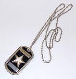 Dog tag type plaque d'identité US ARMY