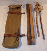 Housse (type allemand WW1) avec mats et piquets de tente Suède WW1/WW2 (N°4)