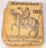 Paquet de tabac plein Arnold Boninger allemand WW2