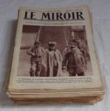 Journal LE MIROIR (Année 1915) français WW1