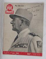 Revue Point de vue Images du monde, N°189 du 17 janvier 1952 mort du Général De Lattre de Tassigny armée française